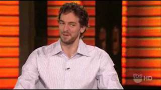 Download 06/23/10 Pau Gasol Interview on Lopez Tonight HD Video