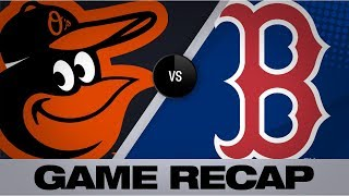 Download Devers powers Red Sox to 13-7 win | Orioles-Red Sox Game Highlights 8/18/19 Video
