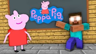Download Monster School : Peppa Pig Challenge - Minecraft Animation Video