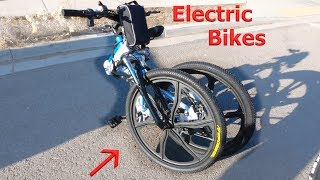 Download This Electric Bike FOLDS in HALF?! Testing a new off road beast. Video