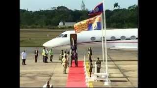 Download Prince Harry Arrival to Belize at PGIA Video