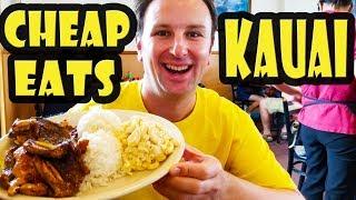 Download 8 Best Cheap Eats Kauai Hawaii Video
