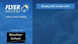Download Flying Weather Week Ahead Forecast 28/10/19 Video