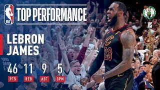 Download LeBron James Forces G7 With HISTORIC Performance Video