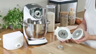 Download Mlýnek na obiloviny, luštěniny a rýži ke kuchyňským robotům ETA Video