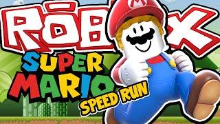 Download SUPER MARIO SPEED RUN! - Roblox Speed Run 4! W/AshDubh Video