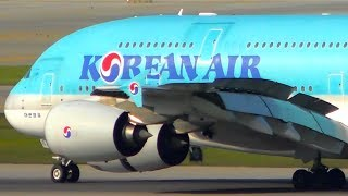 Download 10 HUGE PLANES Landing From VERY CLOSE UP | Seoul Airport Plane Spotting Video