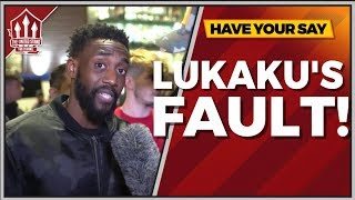 Download Rants | Lukaku Lost Us That! Manchester United vs Tottenham 0-3 FANCAM Video
