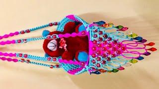 Download Macrame Chair teady jhula | how to make macrame jhula design Video