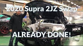 Download First 2020 Toyota Supra 2JZ Swap is already done! Video