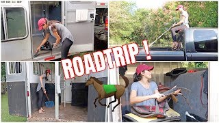 Download Cleaning & Preparing For A Road Trip With Horses! | Barn Vlog Video
