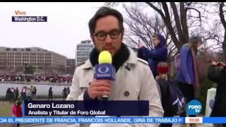 Download Genaro Lozano reporta más de 500 mil personas en marcha contra Trump Video
