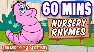 Download Herman the Worm - Popular Nursery Rhymes Playlist for Children - by The Learning Station Video