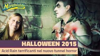 Download ACID RAIN terrificanti immagini del nuovo tunnel Horror di Mirabilandia HD Video