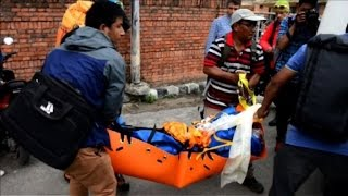 Download Body of Swiss climber Ueli Steck arrives in Kathmandu Video