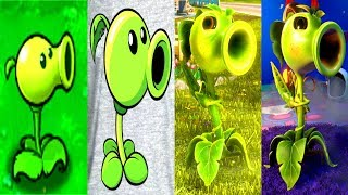 Download Evolution of Peashooter | PVZ GW 2, PvZGW 1, PVZ, PvZ2, PvZ Heroes (2009 - 2017) Video