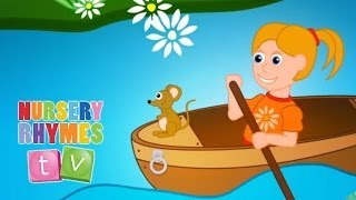 Download ROW ROW ROW YOUR BOAT | Nursery Rhymes TV. Toddler Kindergarten Preschool Baby Songs. Video
