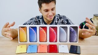 Download iPhone XR Unboxing! All Colors Video