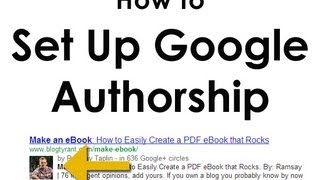 Download How to Set Up Google Authorship (Get Your Photo in Google Results) Video
