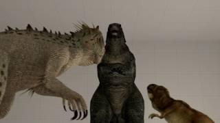 Download [SFM] T-Rex, Indominus Rex and Godzilla 2014 Video