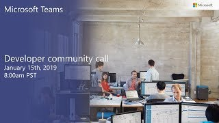 Download Microsoft Teams community call-January 2019 Video