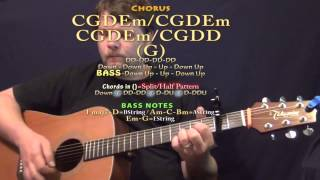 Download Up (Olly Murs) Guitar Lesson Chord Chart - Capo 2nd Fret Video