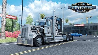 Download ✅ ATS Mods - Stock Skins As Paintable Metallic for W900 & 389 Pack Video