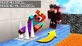 Download IF YOUR FRIEND DIES, YOU DIE! (Minecraft LAVA PARKOUR!) Video