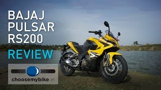 Download Bajaj Pulsar RS 200 : ChooseMyBike.in Review Video