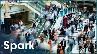 Download 1000 People Per Minute Cram Onto The Tube At Victoria | The Tube | Spark Video