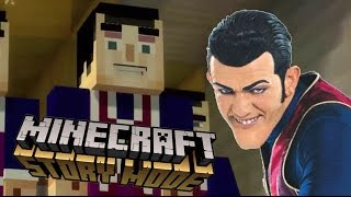 Download We Are Number One But in Minecraft Story Mode Video