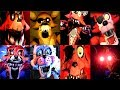 45 FOXY JUMPSCARES! | FNAF Fan Games | IULITM