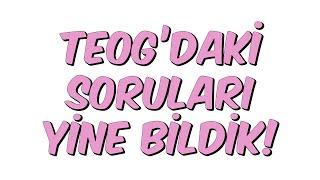 Download TEOG'DAKİ SORULARI YİNE BİLDİK Video