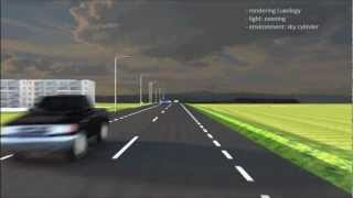 Download Animation of road designs with Bentley MicroStation V8i SelectSERIES 3 Video