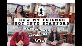 Download HOW TO GET INTO STANFORD (Revealing my FRIENDS' stats, extracurriculars, essay topics) Video