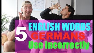 Download 5 English Words and Phrases that GERMANS ALWAYS USE INCORRECTLY! (by @itsConnerSully) Video