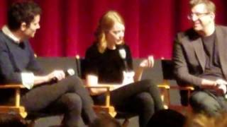 Download Emma Stone on her chemistry with Ryan Gosling and the auditioning process Video