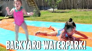 Download BACKYARD WATERPARK! - May 22, 2017 - ItsJudysLife Vlogs Video