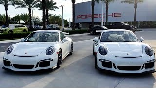 Download Porsche 911 GT3 versus 911 GT3 RS comparison @ Porsche West Broward Video