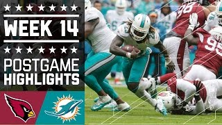 Download Cardinals vs. Dolphins | NFL Week 14 Game Highlights Video