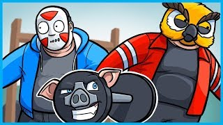 Download Garry's Mod Prop Hunt Funny Moments - Big Fatties Edition! (New Year's Workout Resolutions) Video