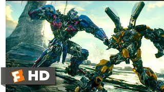 Download Transformers: The Last Knight (2017) - Bumblebee vs Nemesis Prime Scene (7/10) | Movieclips Video