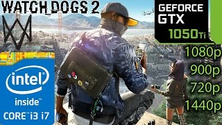 Download Watch Dogs 2: GTX 1050 ti - i3 6100 and i7 4790 - 1080p - 900p - 720p - 1440p Video