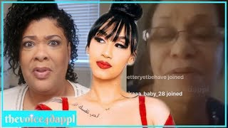 Download Queen Naija MOM & Grandmother had a message for Queen & Clarence Video