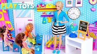 Download Playing Barbie Doll School Classroom Teacher Adventure! 🎀 Video