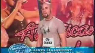 Download Chris Daughtry - American Idol Audition Video