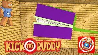 Download Monster School : KICK THE BUDDY CHALLENGE+PAINT STEVE Video