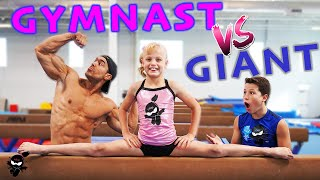Download GIANT Bodybuilder Tries Gymnastics Video