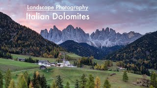 Download Landscape Photography - Italian Dolomites Video