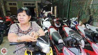 Download Xem dàn xe máy cũ từ 12 triệu của dì Phú 40 năm trong nghề ở Tây Ninh có biển số độc 79999 Video